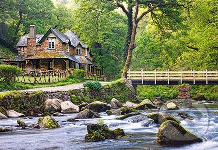 Watersmeet, Exmoor National Park, England -