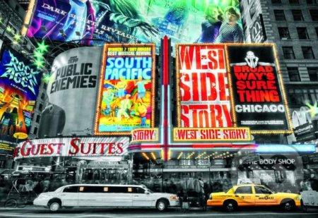 New York Theatre Signs -
