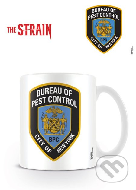 Hrnček The Strain (Bureau Of Pest Control) -