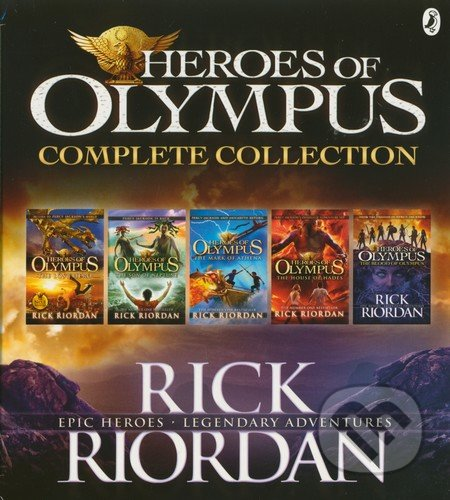 Heroes of Olympus Complete Collection - Rick Riordan