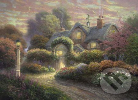 Rosebud Cottage - Thomas Kinkade