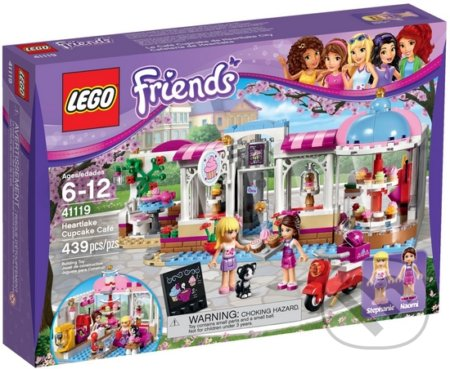 LEGO Friends 41119 Cukráreň v Heartlake -