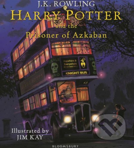 Harry Potter and the Prisoner of Azkaban - J.K. Rowling, Jim Kay (ilustrácie)