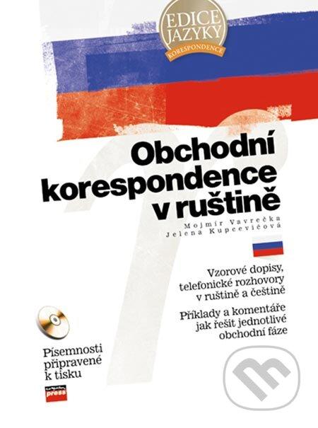 Kniha Obchodni Korespondence V Rustine Mojmir Vavrecka A Jelena