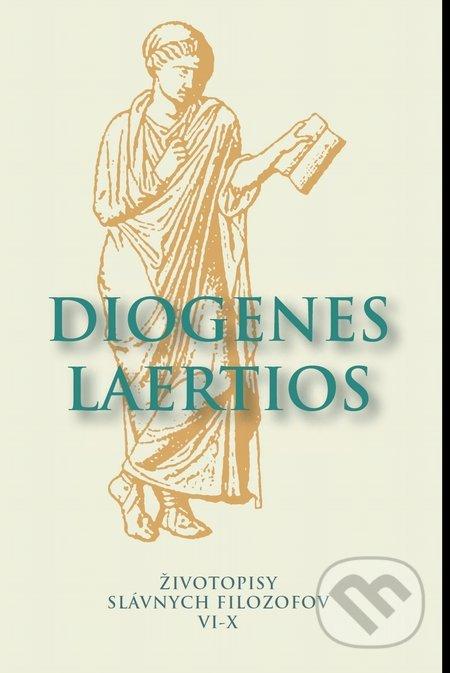 Kniha Zivotopisy Slavnych Filozofov Vi X Diogenes Laertios Martinus