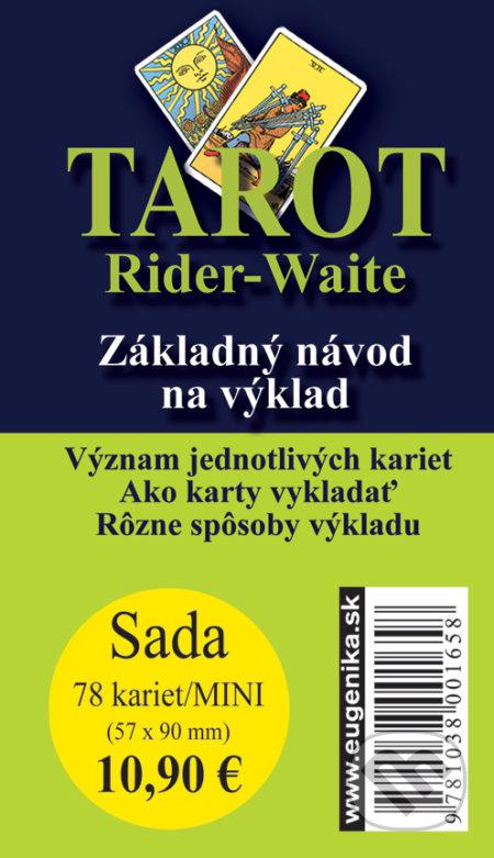 Kniha Tarot Rider Waite Arthur Edward Waite Martinus