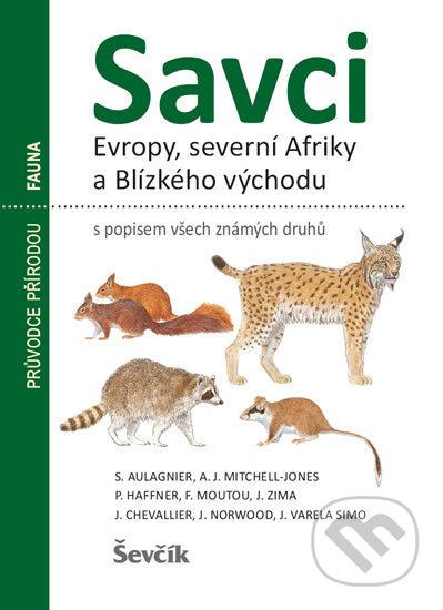 Kniha Savci Evropy Severni Afriky A Blizkeho Vychodu Kolektiv