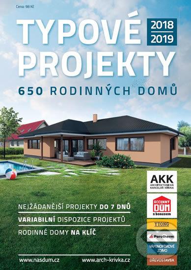 Kniha Typové Projekty 20182019 650 Rodinných Domů Agentura Náš