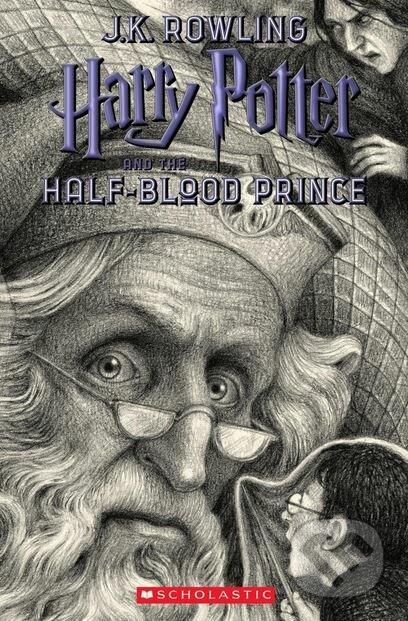 Kniha  Harry Potter and the Half-Blood Prince (J.K. Rowling)  e0c4c9d8634
