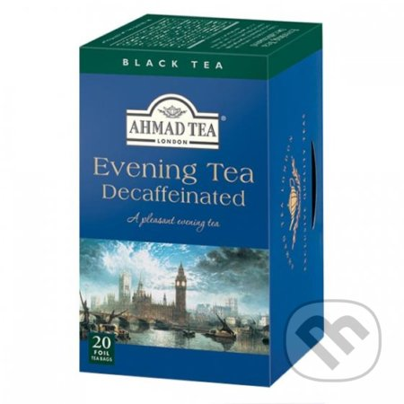 Čierny čaj Decaffeinated Evening (bez kofeínu) -