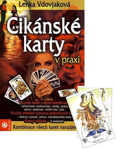 Kniha Cikanske Karty V Praxi 36 Karet Kniha Lenka Vdovjakova