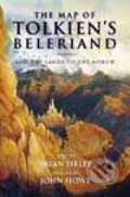 The Map of Tolkien's Beleriand and the Lands to the North - Brian Sibley