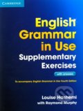 English Grammar in Use - Supplementary Exercises with Answers - Louise Hashemi, Raymond Murphy