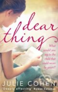 Dear Thing - Julie Cohen