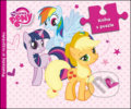 My Little Pony: Kniha s puzzle -