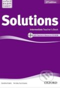 Solutions - Intermediate - Teacher's Book + CD -