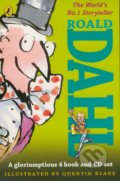 Roald Dahl (4 Book and CD Set) - Roald Dahl