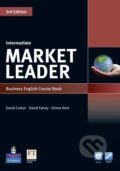 Market Leader - Intermediate - Course Book + DVD - David Cotton, David Falvey, Simon Kent