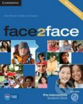 Face2Face: Pre-intermediate - Student's Book - Chris Redston, Gillie Cunningham
