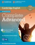 Complete Advanced - Student's Book with Answers - Guy Brook-Hart, Simon Haines
