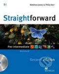 Straightforward - Pre-Intermediate - Workbook without Key - Matthew Jones