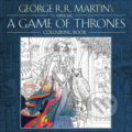The Official A Game of Thrones Colouring Book - George R.R. Martin