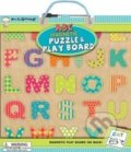 Magnetic Puzzle and Play Boards: ABC -