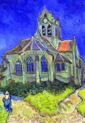 Church at Auvers sur Oise -