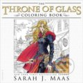The Throne of Glass Coloring Book - Sarah J. Maas