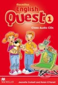 Macmillan English Quest 1 - Class Audio CDs - Roisin O'Farrell, Jeanette Corbett