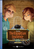 The Egyptian Souvenir - Mary Flagan, Sarah Gudgeon, LibellulArt (ilustrácie)