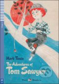 The Adventures of Tom Sawyer - Mark Twain, Janet Borsbey, Ruth Swan, Alessandra Vitelli (ilustrácie)