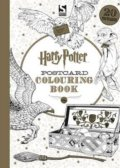 Harry Potter Postcard Colouring Book -