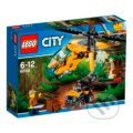LEGO City Jungle Explorers 60158 Nákladná helikoptéra do džungle -