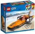 LEGO City Great Vehicles 60178 Rýchlostné auto -