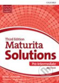 Maturita Solutions - Pre-Intermediate Workbook (Czech Edition) - Tim Falla, Paul A. Davies