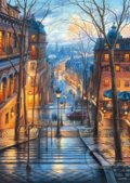 A Spring Morning in Montmartre - Evgeny Lushpin