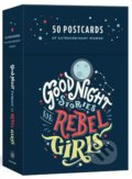 Good Night Stories for Rebel Girls: 50 Postcards - Elena Favilli, Francesca Cavallo