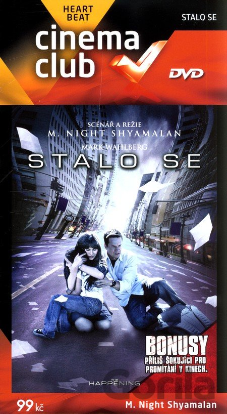 DVD Stalo se (DVD Light - digipack) - M. Night Shyamalan