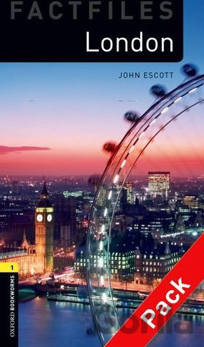 Kniha London - Factfile + CD - John Escott