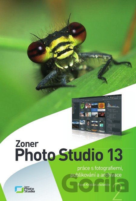 Kniha Zoner Photo Studio 13 - Svazek 2 - Pavel Kristián,
