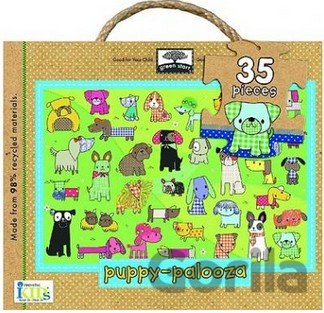 Puzzle Green Start Puppy-Palooza Giant Floor Puzzle (Jillian Phillips) [GB]