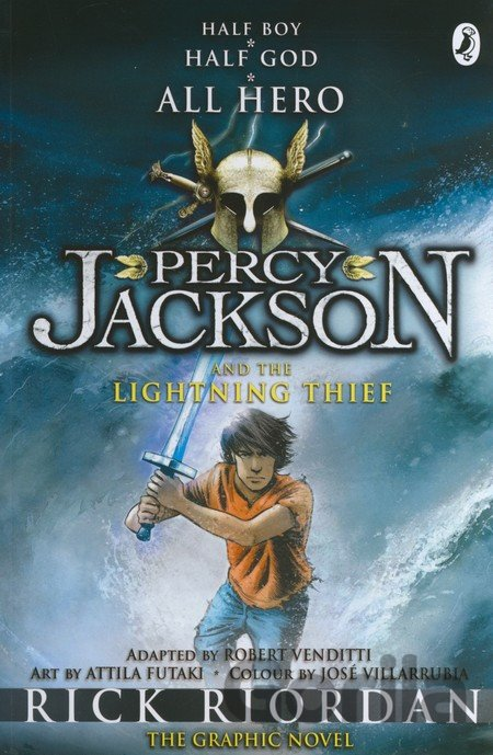 Kniha Percy Jackson and the Lightning Thief: The Gr... (Rick Riordan) - Rick Riordan