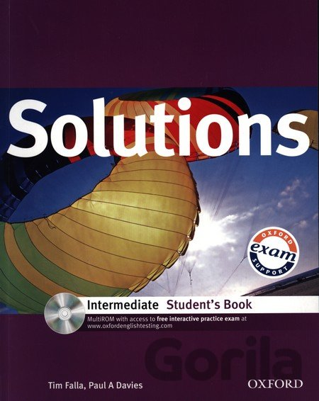 Kniha Solutions Intermediate Student's Book with MultiROM Pack (Falla, T. - Davies, P - Tim Falla, Paul A. Davies