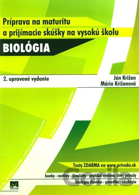 Kniha Biologia Priprava Na Maturitu A Prijimacie Skusky Na Vysoku