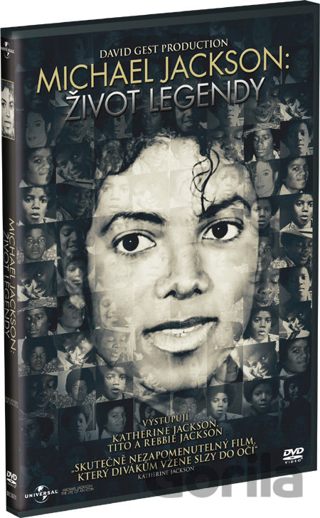 DVD Michael Jackson: Život legendy - Andrew Eastel