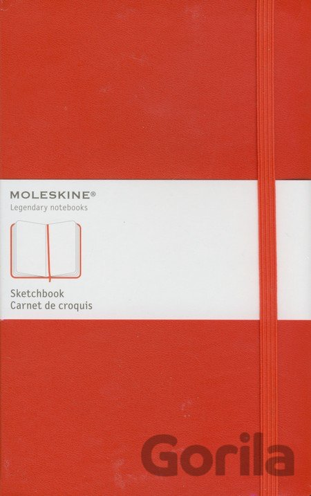 Moleskine Large Sketch Book Red (Moleskine)