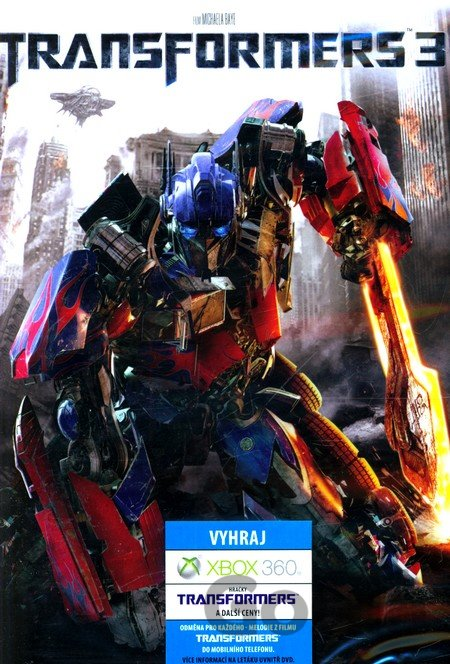 DVD Transformers 3 - Michael Bay