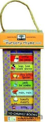 Kniha Green Start Book Towers: Little Nursery Rhymes Books -