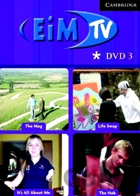 DVD English in Mind 3 - DVD and Activity Booklet -